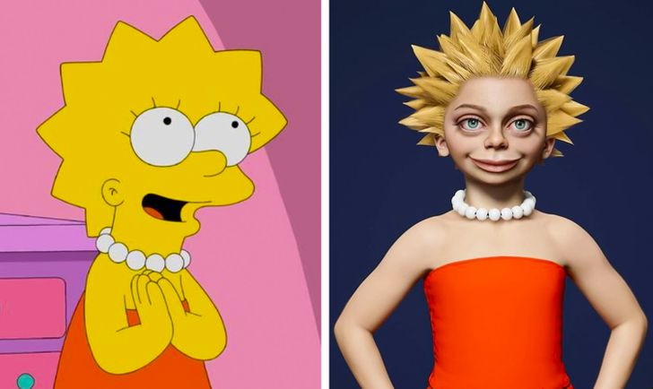 An Artist Turns Cartoon Characters Into Real-Life People, and We Want to See Remakes ASAP