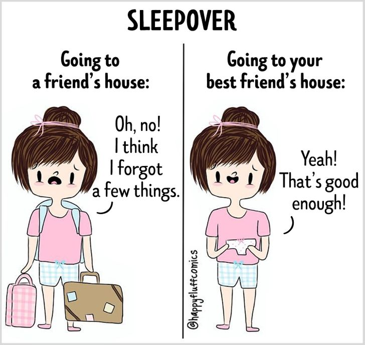 19Comics That Every Girl Will Recognize Herself In