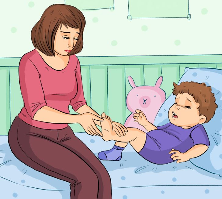 7 Pressure Points to Help Calm a Baby Down and Relieve Discomfort