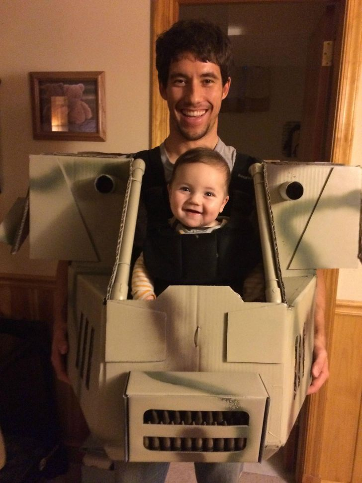27 Pics That Prove a Dad's Ingenuity Knows No Limits
