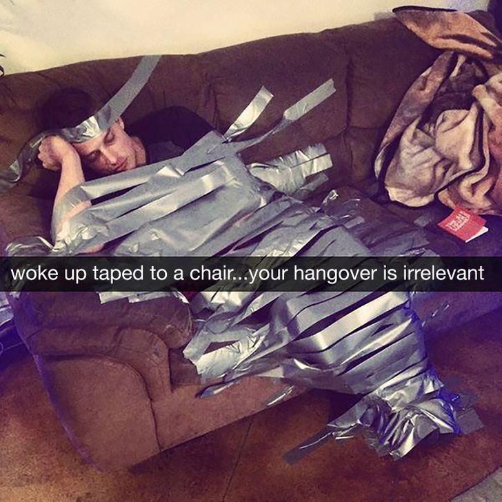 15Hilarious Snapchats From the Morning After