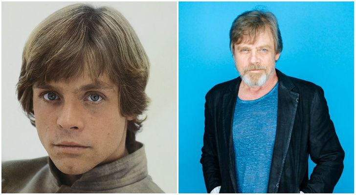 Our Favorite Star Wars Actors - Then and Now