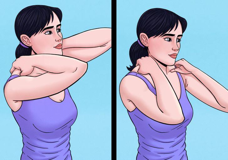 Omuzlarınızı Rahatlatacak ve Günlük Stresi Azaltacak 10 Egzersiz