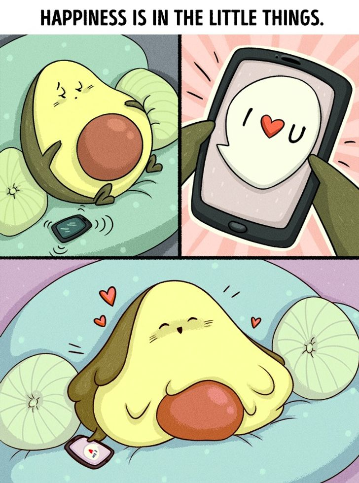 13Comics About Those Who Are Deeply inLove