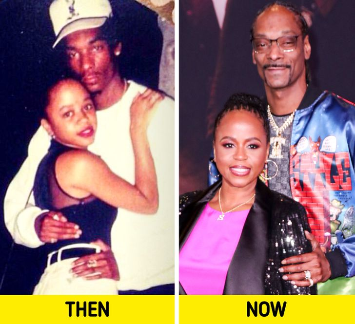 9 Celebs Who Married Their First Love