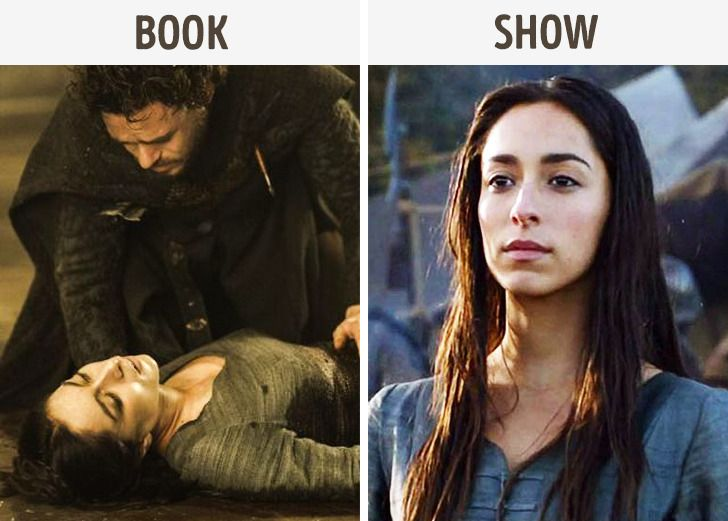 """20 Differences Between the """"Game of Thrones"""" Series and the Books That Show the Author's Ideas From Another Side"""