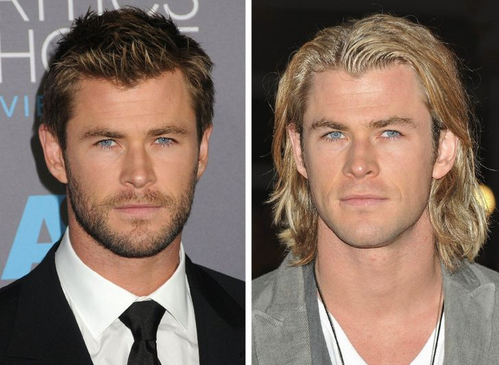 18 Times Celebrity Men Grew Long Hair and Looked Even More Handsome