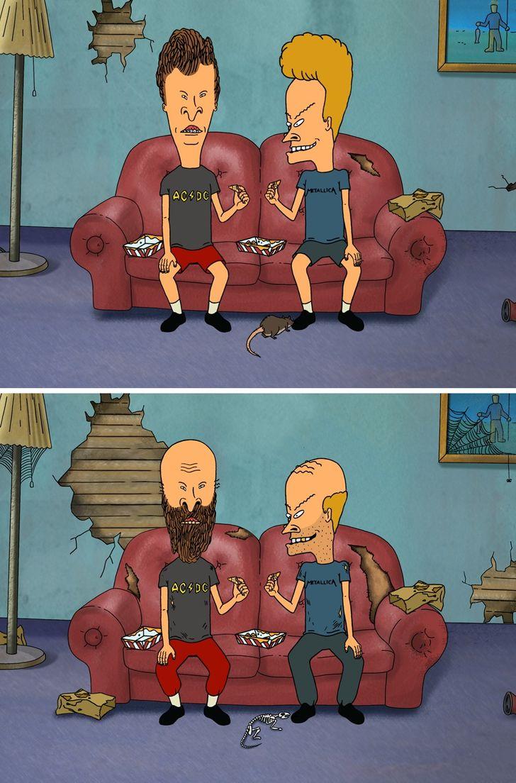 Așa ar arăta personajele noastre preferate de desene animate ca adulți