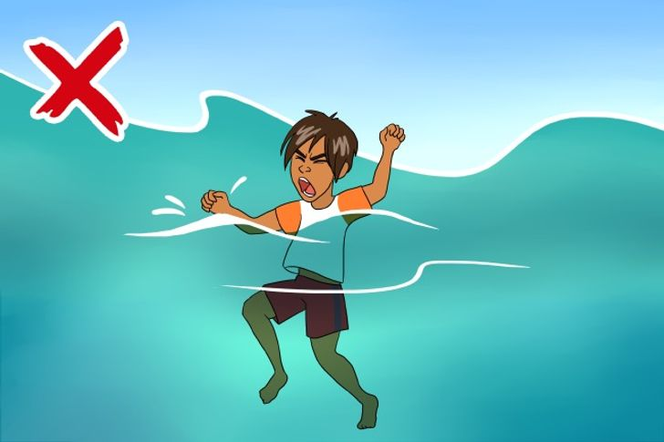 What toDo ifYou Find Yourself inthe Open Sea
