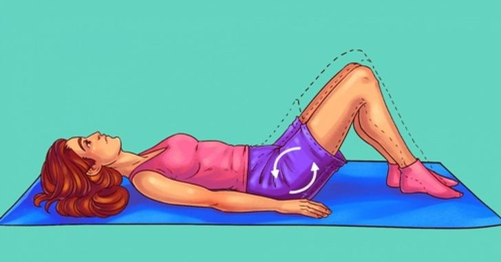 8Exercises toKill Pain and Strengthen the Muscles inYour Lower Back