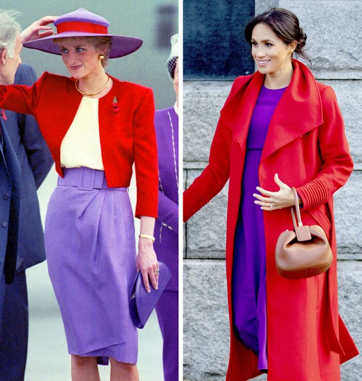14 times kate middleton and meghan markle recreated princess diana s outfits and it was truly heartwarming 14 times kate middleton and meghan