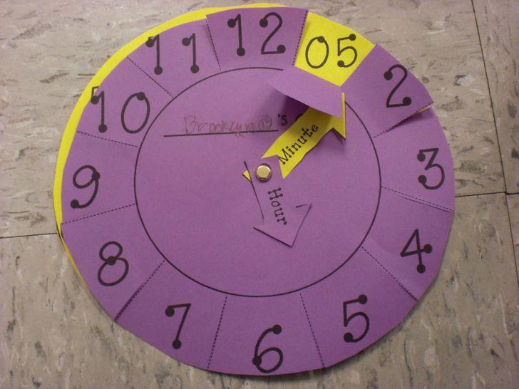 Помагало как детето да научи числата и часовника