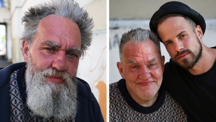 A British Hairdresser Cuts Homeless People's Hair for Free and Gives Them Hope for a New Life