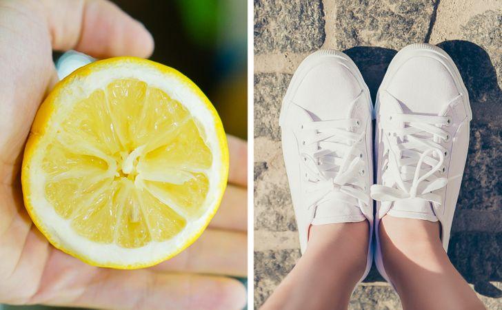 9 εύκολοι τρόποι να λευκαίνετε τα παπούτσια σας με οικιακά προϊόντα