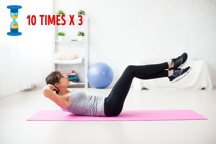8Exercises and Yoga Asanas toMelt Away Belly Fat