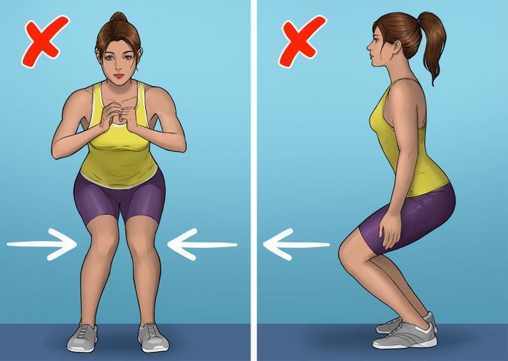 8 Popular Exercises That Even Fitness Instructors Do Wrong