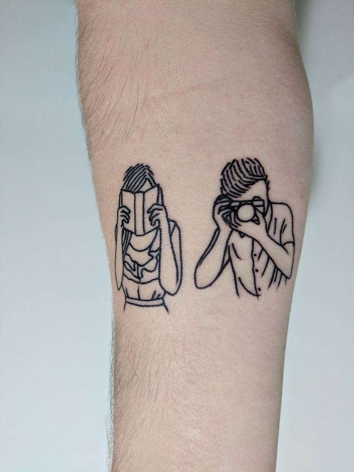 24Unusual Tattoos That Are Putting aNew Spin onthe Art Form