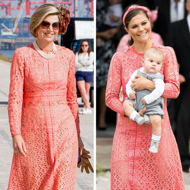 11 Pairs of Royal Women Who Wore the Same Dress but Looked Different