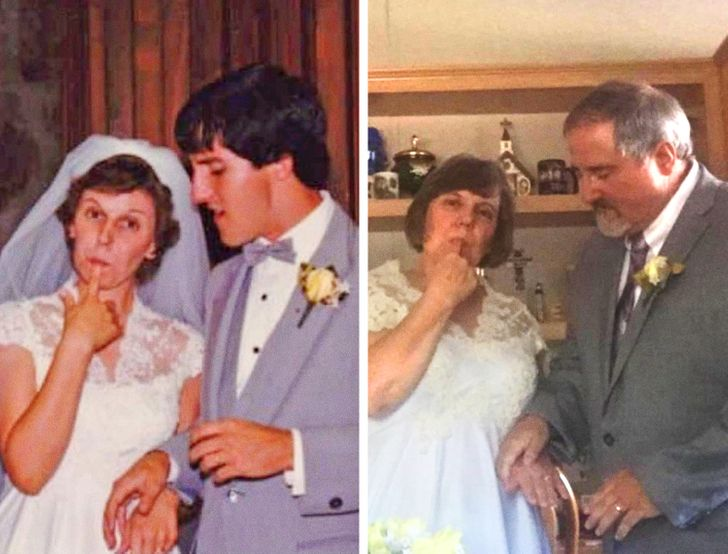 22 Happy Couples Shared Photos Through the Years of Their Relationship