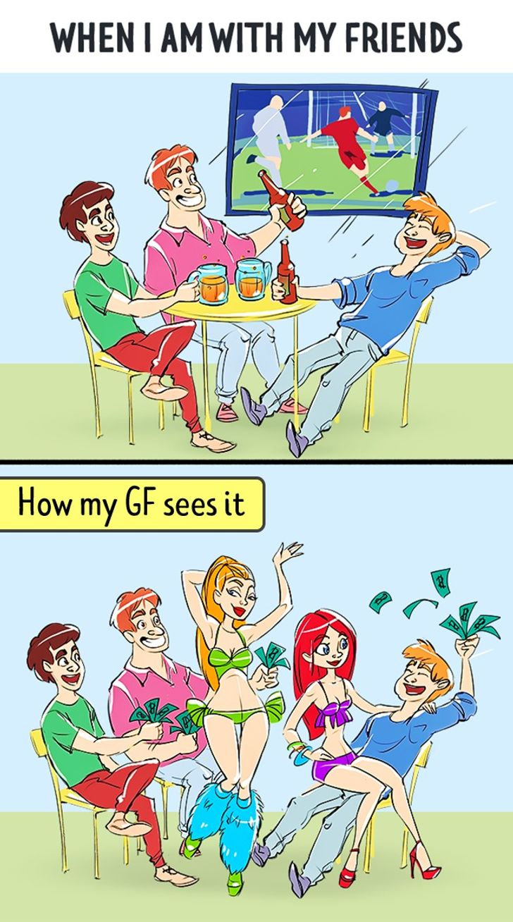 How ISee MyLife vs. How MyGirl Sees Itin12Pictures