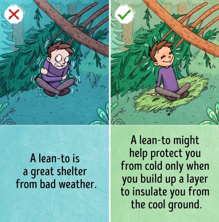 9survival myths that could actually hurt you