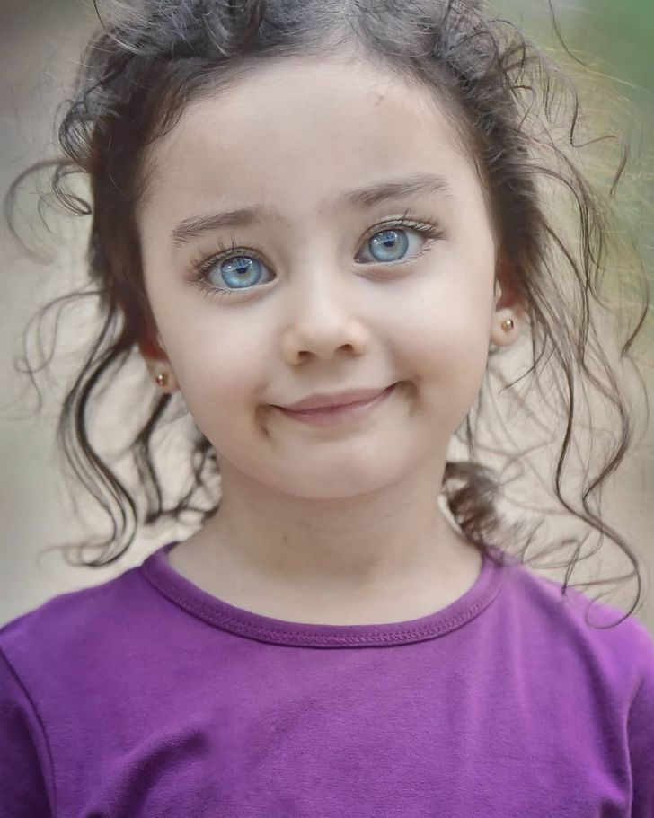 Turkish Photographer Captures the Beauty of Children's Eyes That Shine Like Gems