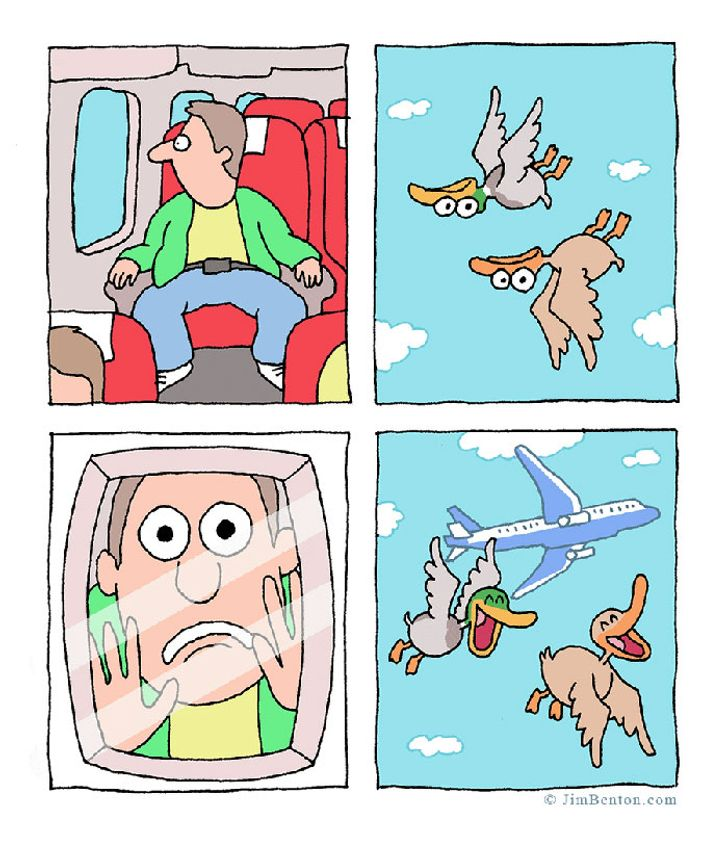 15Absolutely Hilarious Comic Strips Showing That Animal Life IsAlso Full ofFun