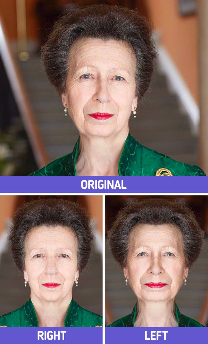 What 14 British Royals Would Look Like if Their Faces Were Perfectly Symmetrical