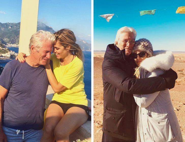 "Richard Gere's Wife Confesses That He's Turned Her Into ""The Luckiest Woman in the World"" by Doing Sweet Things"