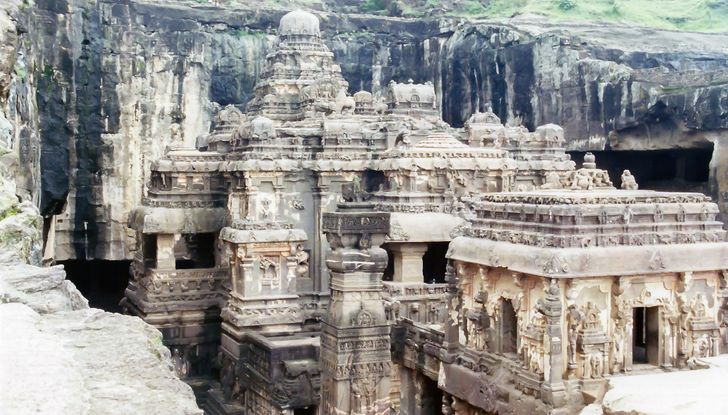 A Mysterious Temple in India Was Carved Out of One Single Rock, and It's a Sight to Behold