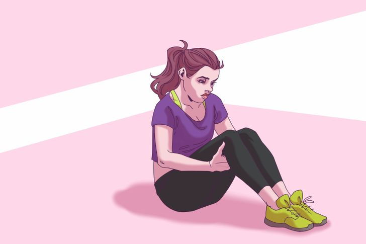 """5 """"Lazy"""" Exercises That Can Help You Quickly Lose Weight Around Your Waist and Set Your Abs on Fire"""