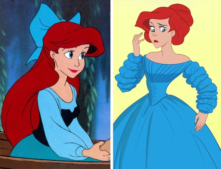 What Disney Princesses Should Have Really Looked Like