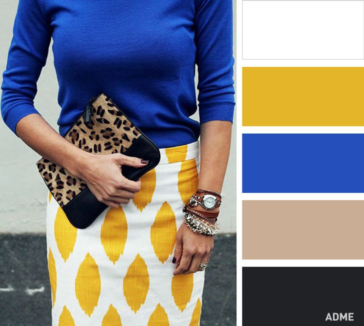 Ten classic clothing combinations toget the perfect image