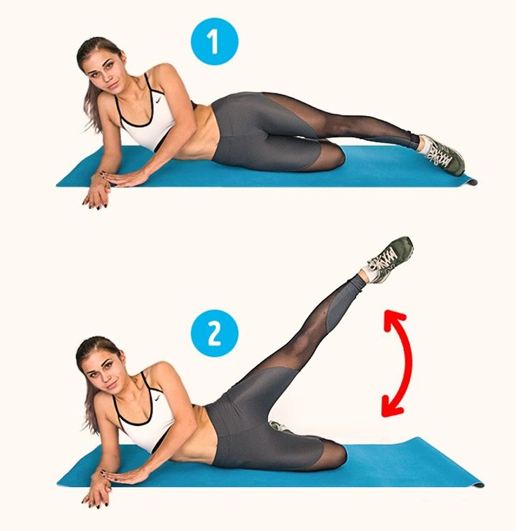 6Exercises toHelp You Get Rid ofCellulite in2Weeks