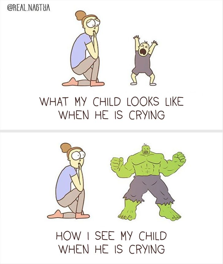 17 Honest Pictures From an Artist That Treats the Hard Parts of Motherhood With Humor