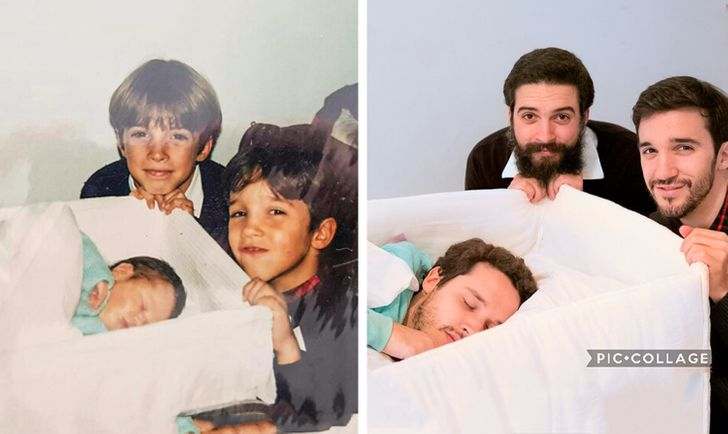 20+ Then and Now Pics That Bring the Sweet Smell of Nostalgia
