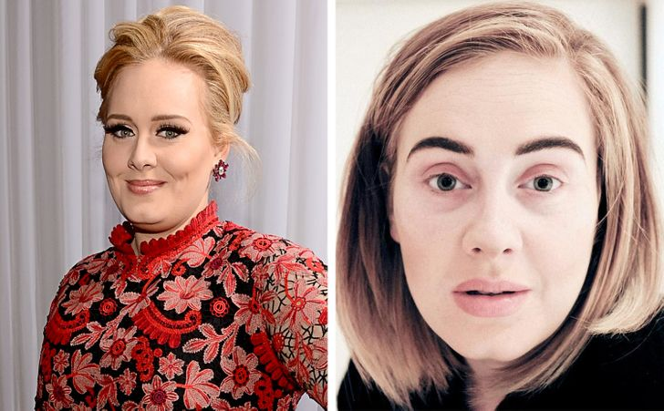 """17 Celebrities We Hardly Recognize Without Their Iconic """"Look"""""""