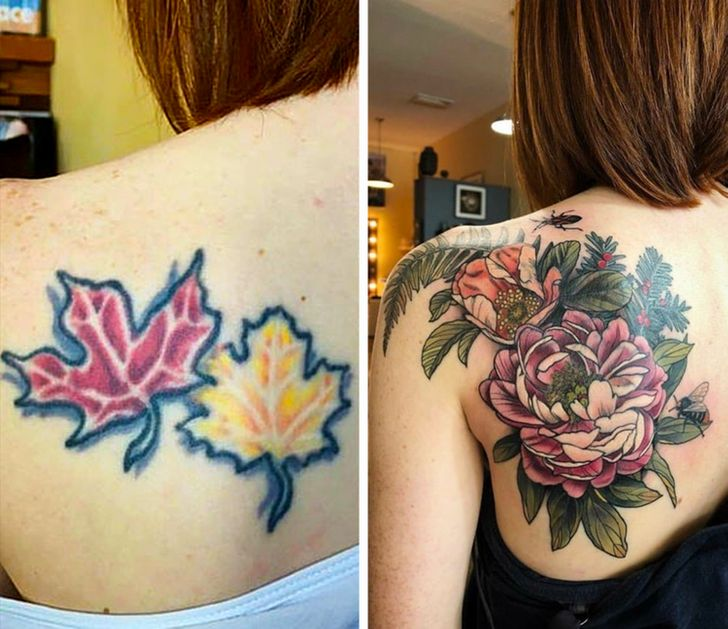 21 People Who Gave Their Tattoos a Second Chance, and the Result Was So Worth It