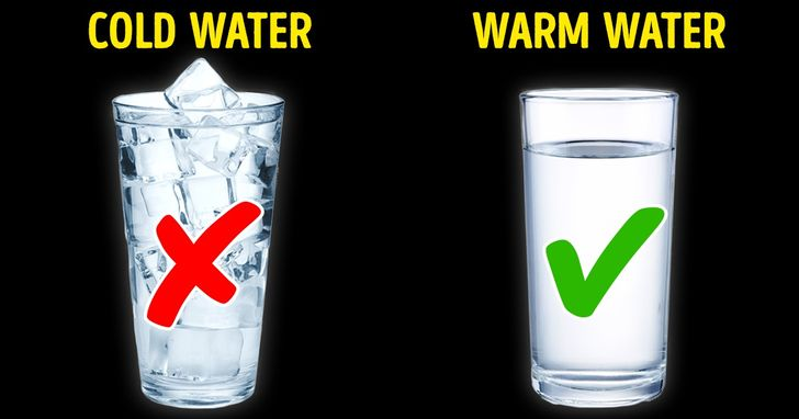 Warm orCold Water? Make Your Choice and See What Happens toYour Body