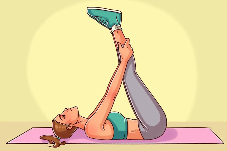 8 Evening Exercises That Will Help You Sleep Like a Baby