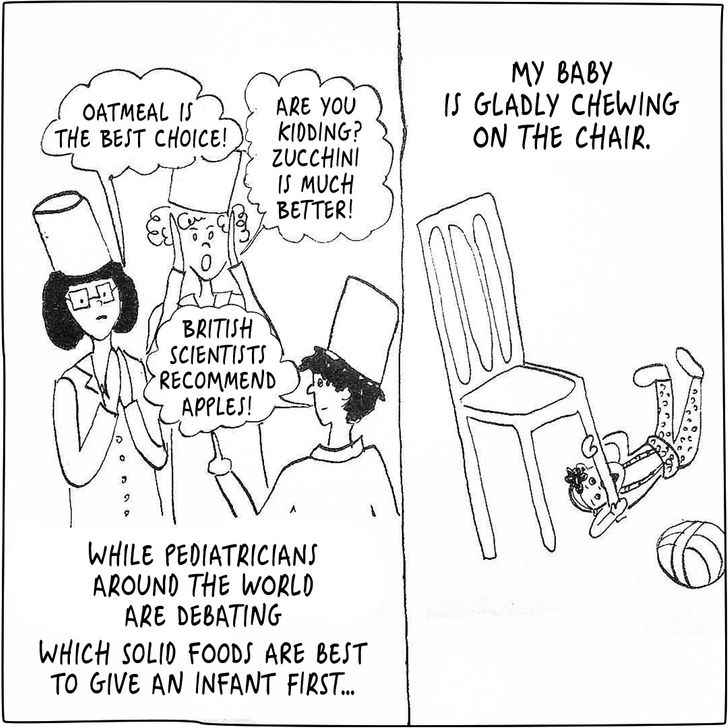 AYoung Mom Draws Amusing and Sincere Comics About What Her Life With aBaby IsLike