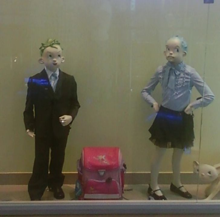 27Times Mannequins Were Almost Too Good For This World