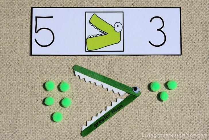 материали за числата