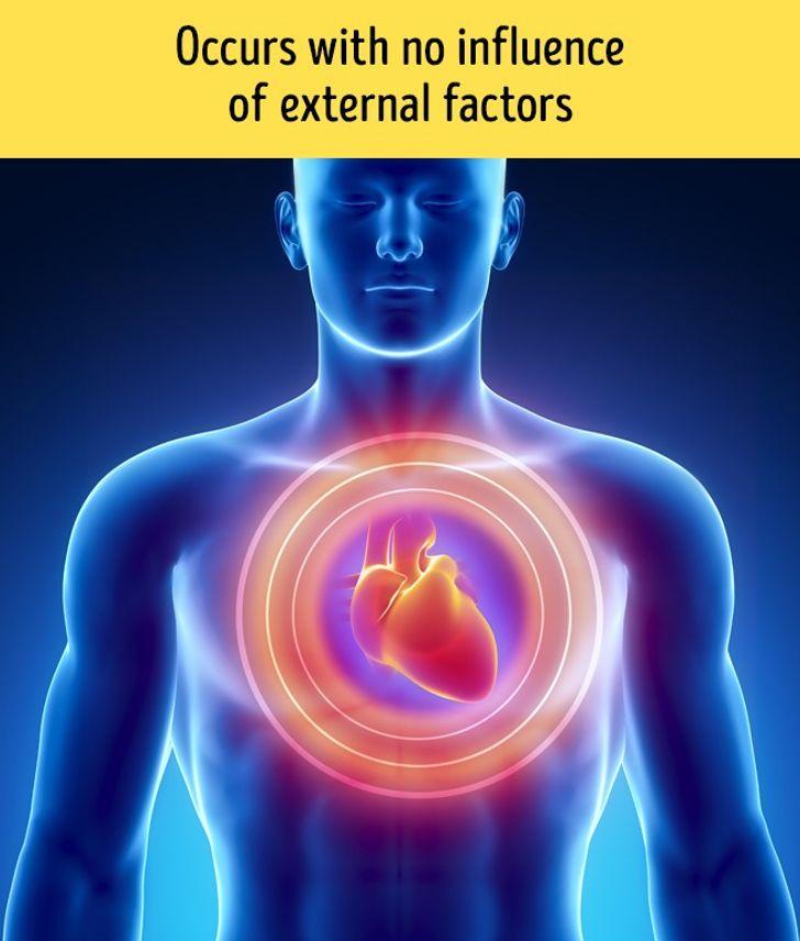 Einen Monat vor einem Herzinfarkt warnt Sie Ihr Körper mit diesen 8 Signalen