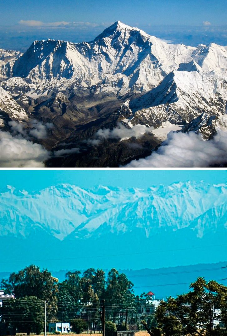 The Himalayas Appear for the First Time in 30 Years, and 14 More Events We Don't Hear About Everyday