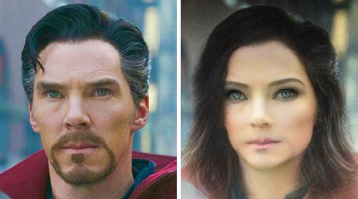 What 20+ Popular Movie Heroes Would Look Like If They Were the Opposite Gender