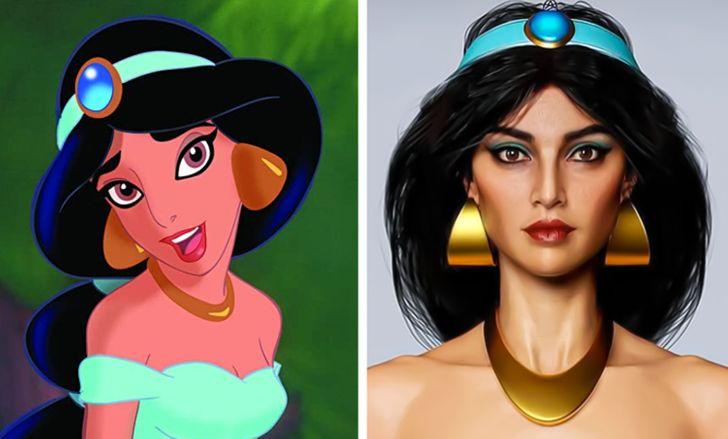 یک هنرمند شخصیت های کارتونی را به افراد واقعی تبدیل می کند و ما می خواهیم در اسرع وقت نسخه های بازسازی شده را ببینیم