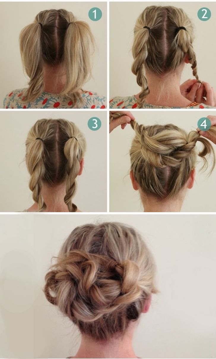 14 Hairstyles That Can Be Done in 3 Minutes