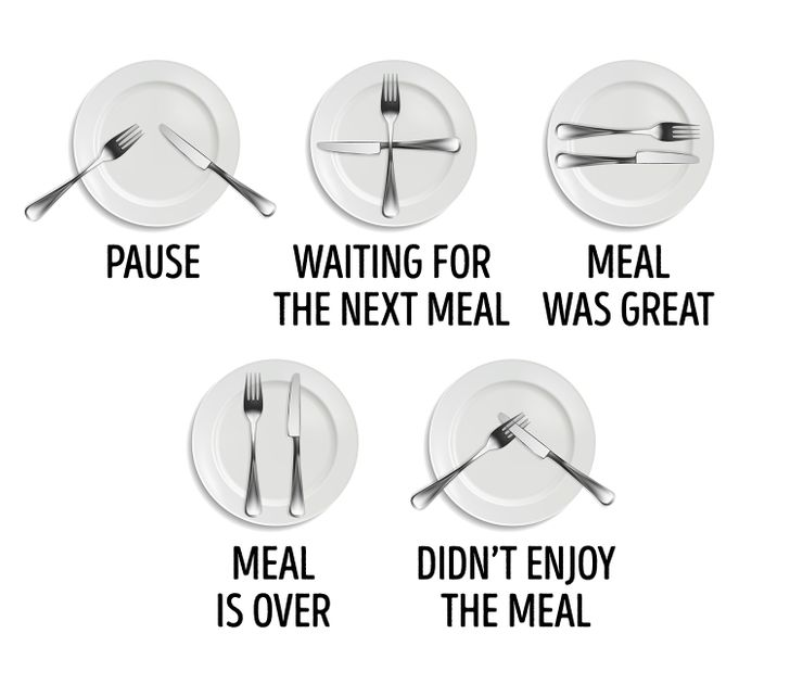 how to use utensils at the dinner table for good table manners