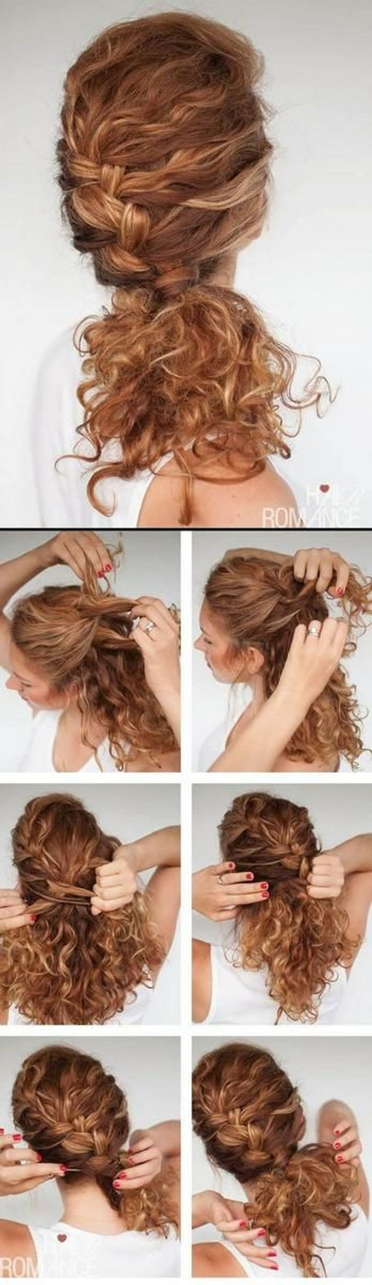 12 fantastic hairstyle tutorials for short and naturally curly hair